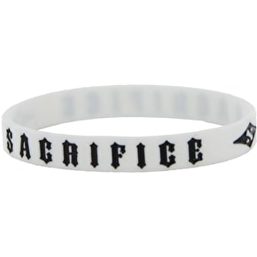 Sacrifice Wrist Band - White