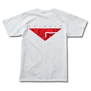 Grizzly Cement T-Shirt - White
