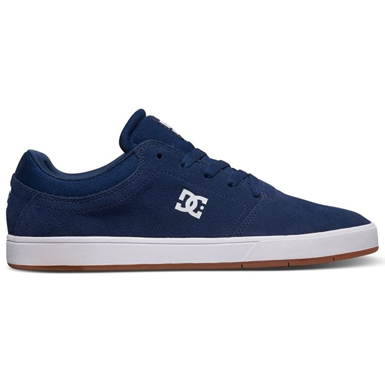 DC Crisis Skate Shoes - Navy/Gum