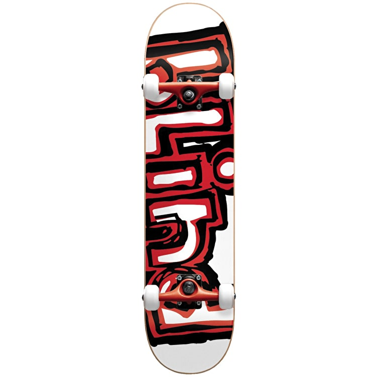 Blind Matte OG Logo Complete Skateboard w/Stocking - Red 7.75""