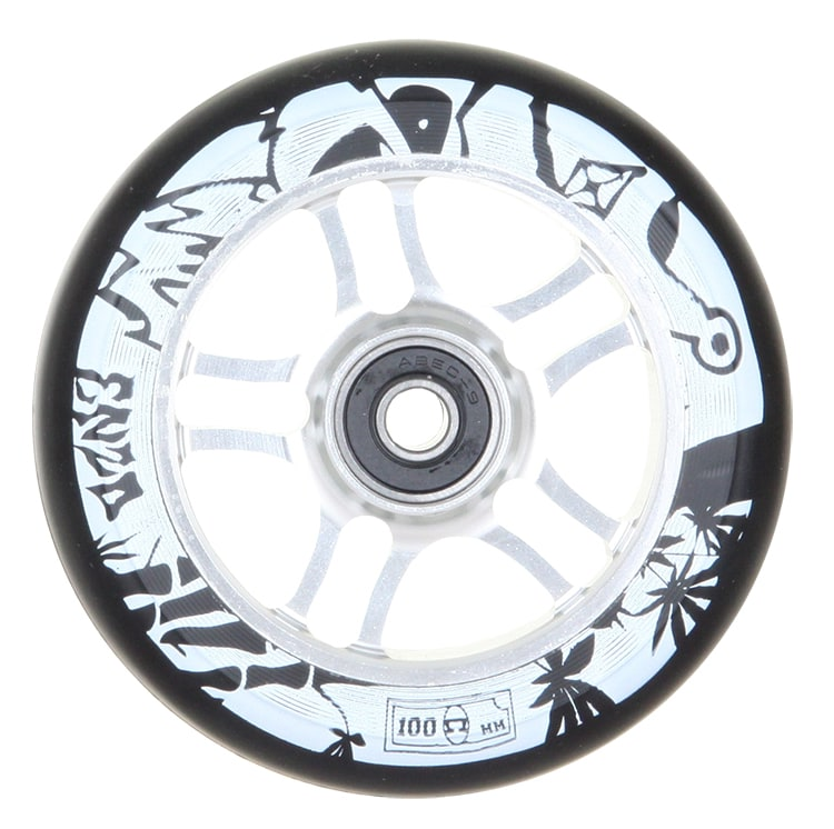 Image of AO 100mm Enzo Scooter Wheel - Silver