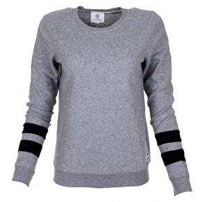 Element Mia Womens Jumper - Grey Heather