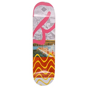 National Skateboard Co Butlins Swim Skateboard Deck - Orange Stain - 8.375