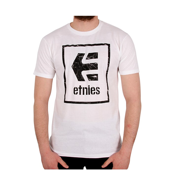 Etnies Bloodline Icon T shirt - White