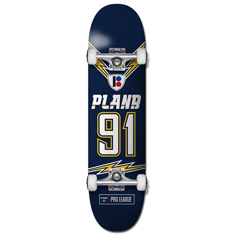 Plan B Team Charged Complete Skateboard - 8""