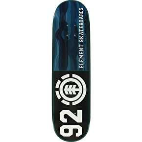 Element Land Lines 92 Skateboard Deck - 8.25
