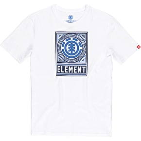 Element T-Shirt - Spirograph - Optic White
