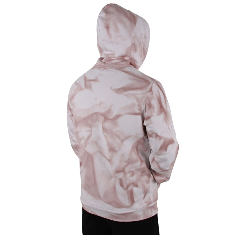 Hype Pullover Tie Dye Hoodie - Pink/White