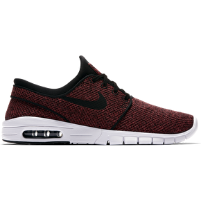 Nike SB Stefan Janoski Max Skate Shoes - Track Red/Black