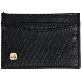 Mi-Pac Card Holder - Snakeskin Black