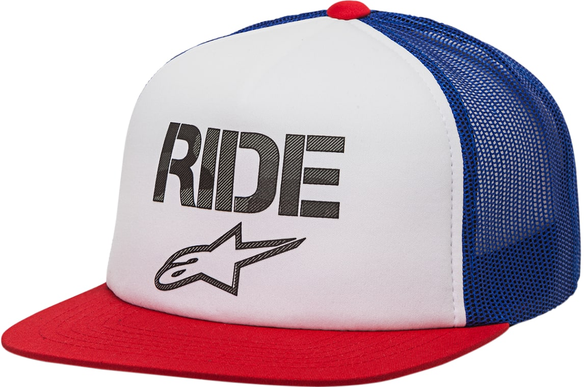 Alpinestars Ride Stealth Hat  Red