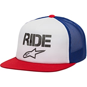 Alpinestars Ride Stealth Hat - Red