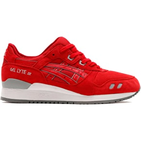 Asics Gel-Lyte III Shoes - Red/Red