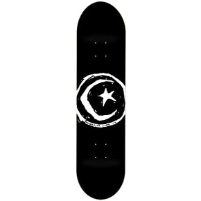 Foundation Star & Moon Skateboard Deck - Black 8