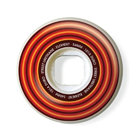 Element Skateboard Wheels - Lines Wide 53mm 101A (Pack of 4)