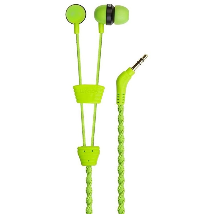 Wraps Classic Earphones - Green