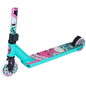 Madd Kick Nuked Pro Complete Scooter - Turquoise/Pink