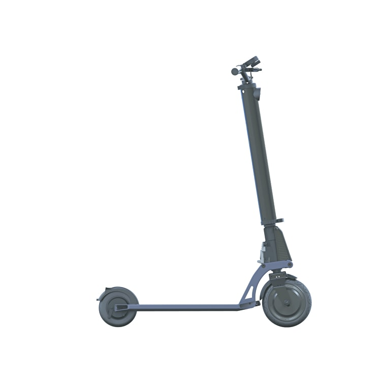 Globber One K E-Motion Electric Scooter - Black/Slate Blue
