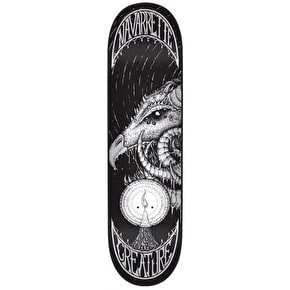 Creature Skateboard Deck - Demons Navarrette Black/White 8.6''