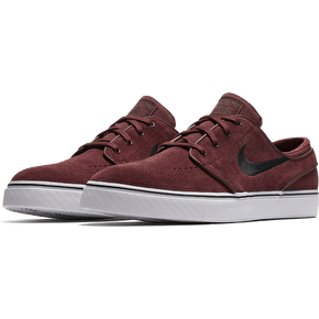 Nike SB Zoom Stefan Janoski Skate Shoes - Dark Team Red/Black