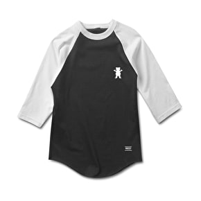 Grizzly OG Bear Two Tone Raglan - Black