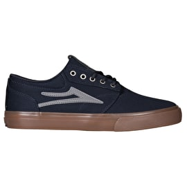 Lakai Griffin Skate Shoes - Navy/Gum Herringbone