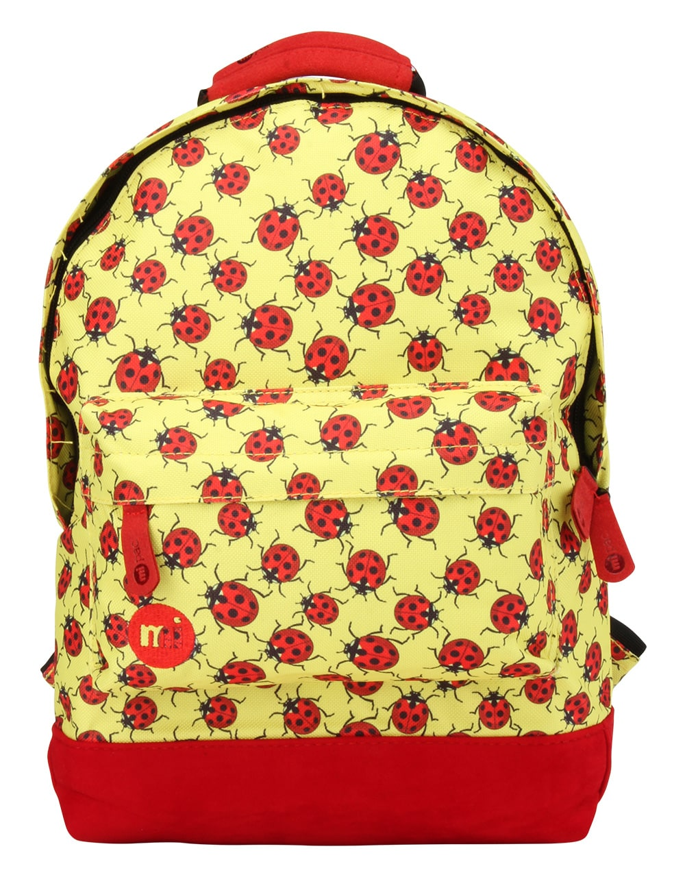 Mi Pac Mini Ladybirds Backpack Yellow Red Backpacks