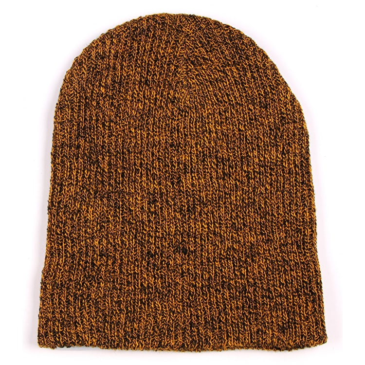 Neff Daily Heather Beanie - Black/Orange