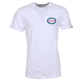 Vans Oval T-Shirt - White
