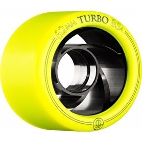 Rollerbones Turbo 62mm Derby Quad Wheels 85A (4pk)