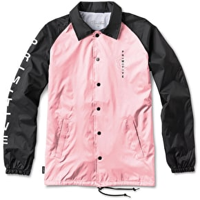 Primitive Club Coach Jacket - Black/Pink