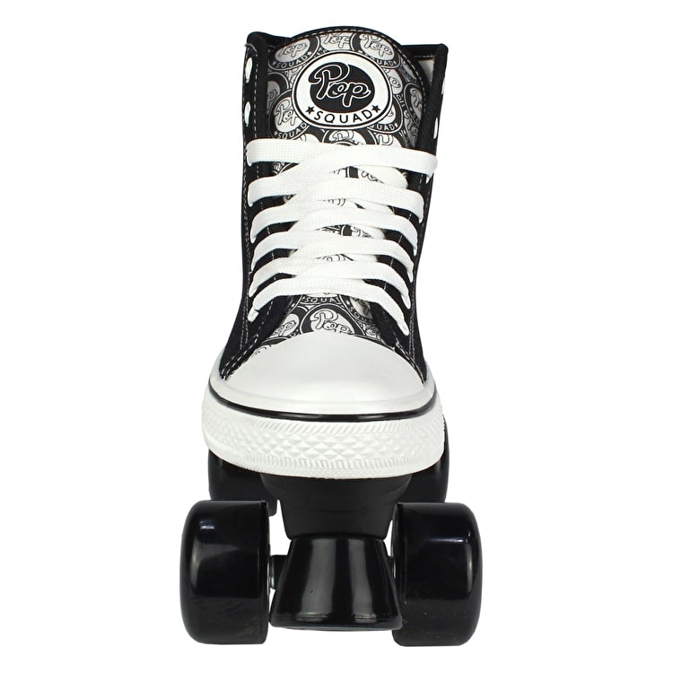 Pop Squad Midtown Quad Roller Skates - Pitch Black