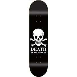 Death Black OG Skull Team Skateboard Deck 7.75