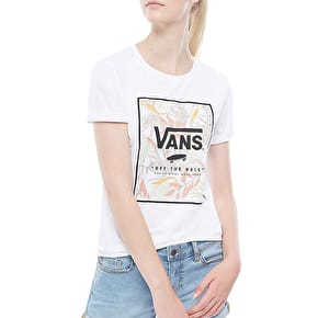 Vans Trop Top Womens T-Shirt - White