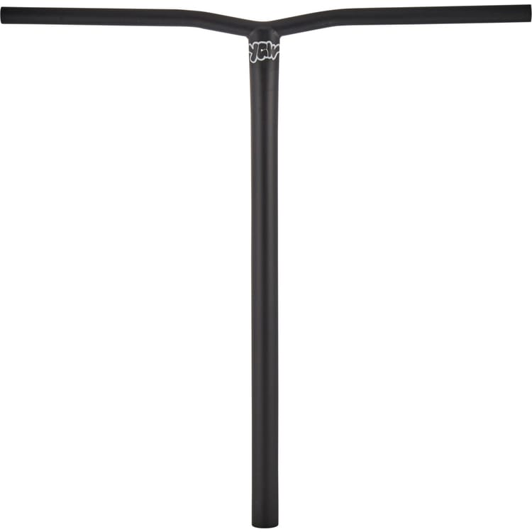 YGW Small Bend Steel Oversized SCS Scooter Bars - Black