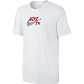 Nike SB S+ Denim T-Shirt - White