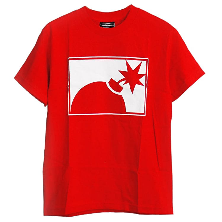 The Hundreds T-Shirt - Forever Halfbomb - Red