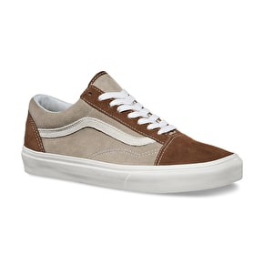 Vans Old Skool Shoes - (Vintage) Dark Earth/Aluminum