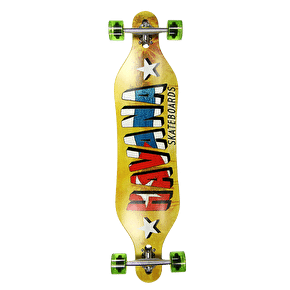 Havana Gemini Drop-Through Banner Complete Longboard 40