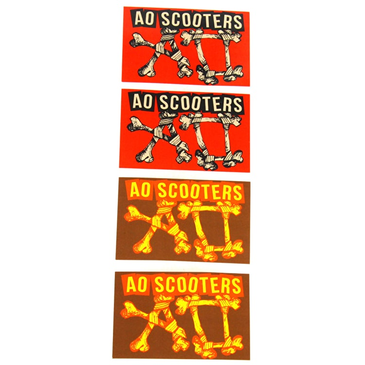 AO Scooters Sticker Pack