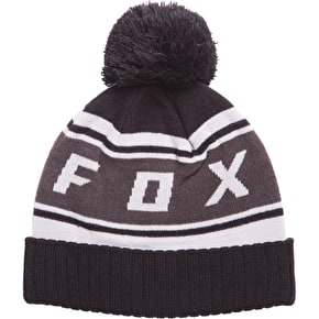 Fox Black Diamond Pom Beanie - Black