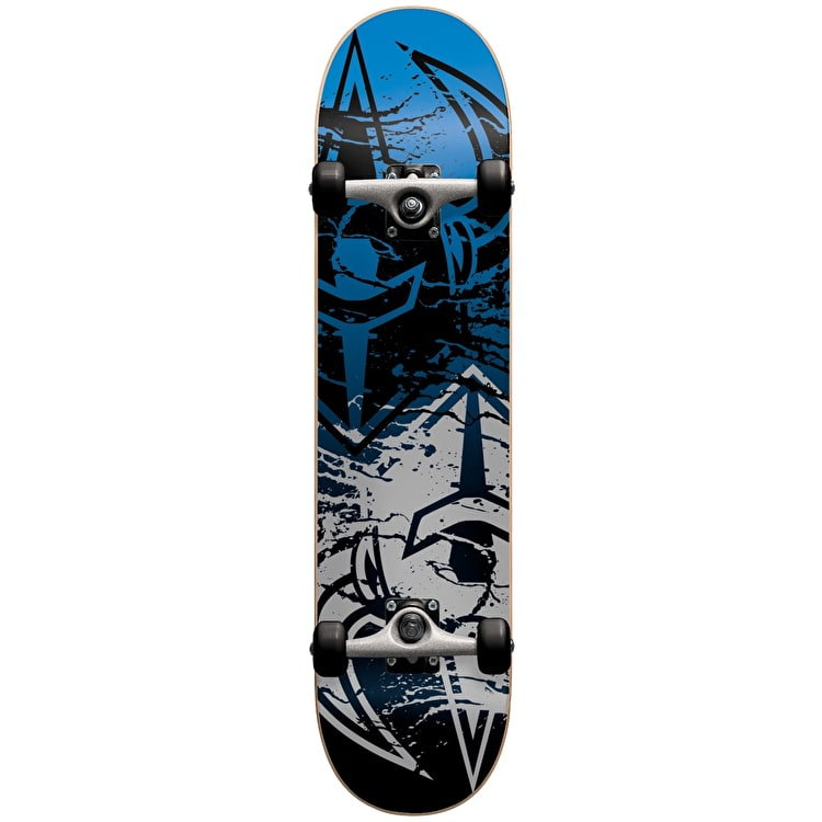 Darkstar Skateboard - Drench Silver/Blue 7.625""