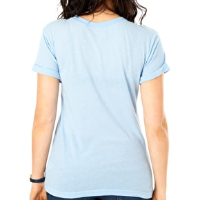 Vans Authentic Rock Womens T-Shirt - Blue Bell