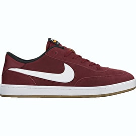 Nike SB FC Classic Skate Shoes - Team Red/White