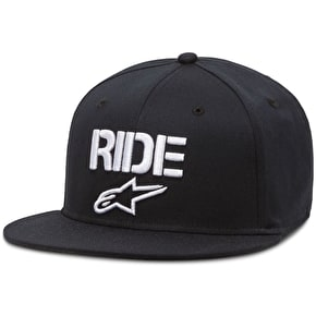 Alpinestars Ride Flat Cap - Black
