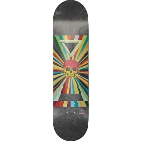 Globe China Heights Skateboard Deck - Ancient Future Skull 8