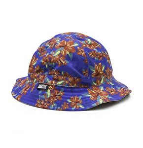 Grizzly Tropical High Reversible Hat - Blue