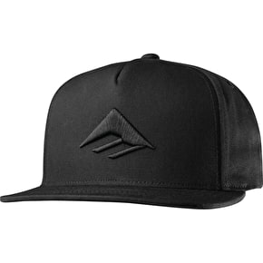 Emerica Triangle Snapback Cap - Black