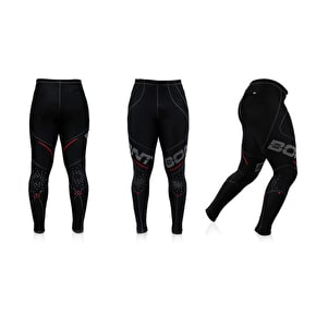 Bont Hi-Performance Compression Leggings-Black