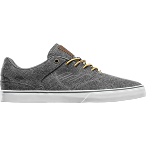 Emerica The Reynolds Low Vulc Skate Shoes - Black Wash